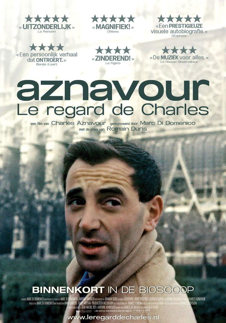 Aznavour, le regard de Charles - Marc di Domenico, Charles Aznavour | Chassé Cinema Breda