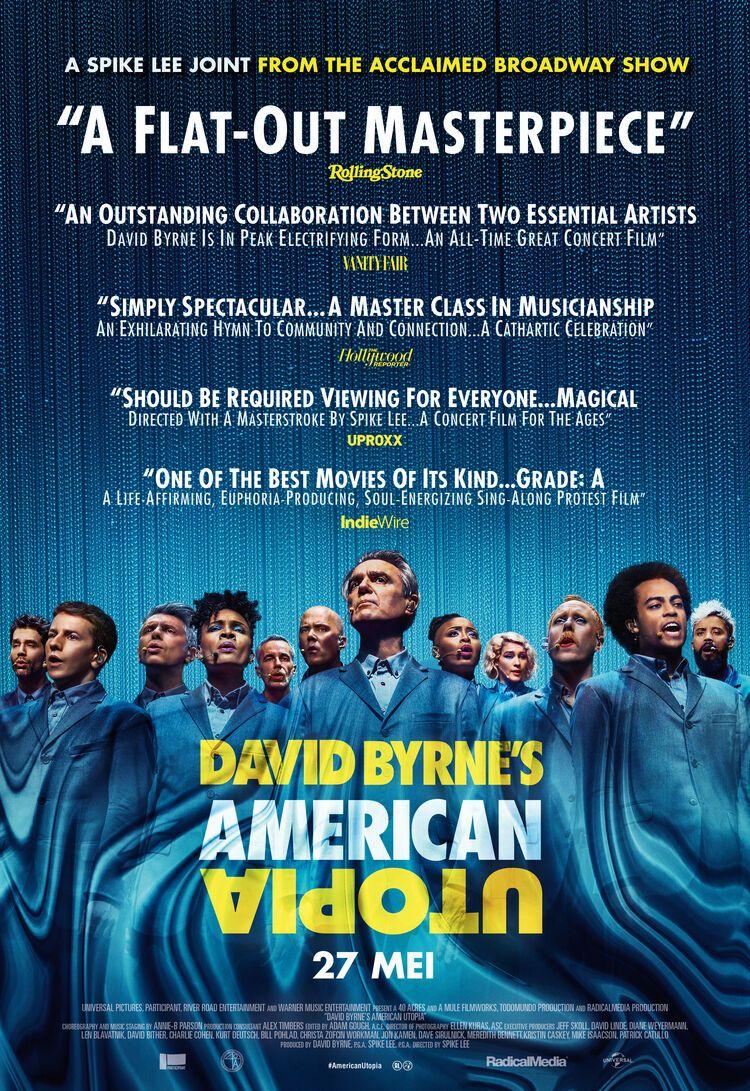 David Byrne's American Utopia - Spike Lee | Chassé Cinema Breda