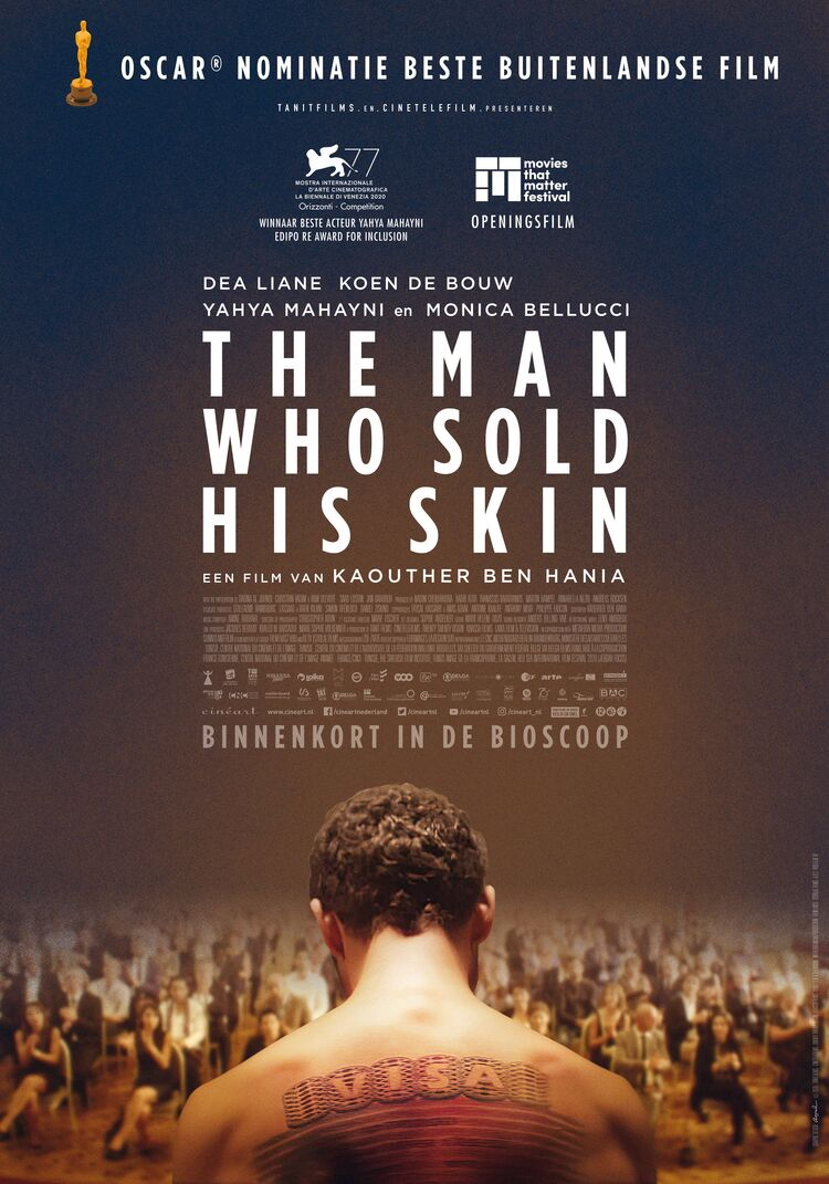 The Man Who Sold His Skin - Kaouther Ben Hania   Chassé Cinema